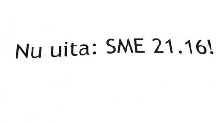 LOCALE 2016 | Ce e SME 21.16?