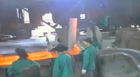 VIDEO PENTRU NOSTALGICI | Combinatul Siderurgic Călan