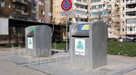 Noi platforme subterane de colectare a deșeurilor