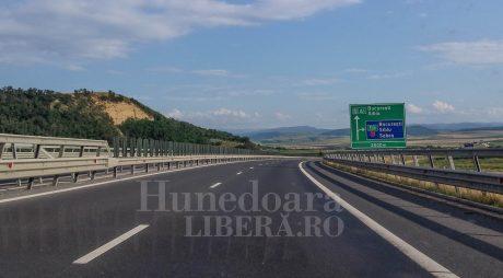 Trafic restricționat pe Autostrada A1 Sibiu-Deva