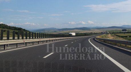 TRAFIC: Circulație restricționată pe A1 Deva-Sibiu – Autostrada se consolidează.