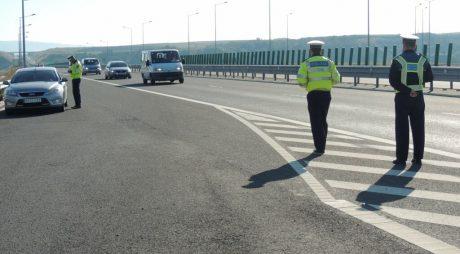 Bulgari amendați pe autostradă. Cu ce VITEZĂ circulau
