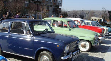 Raliu cu mașini RETRO în județul HUNEDOARA