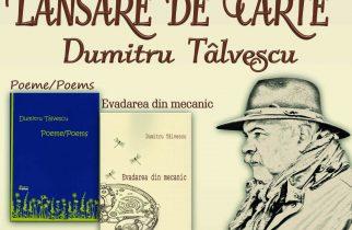 Lansare de carte: Dumitru Tâlvescu