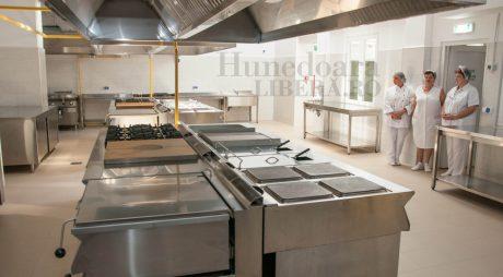 Bucătăria Spitalului Județean, redeschisă după modernizare