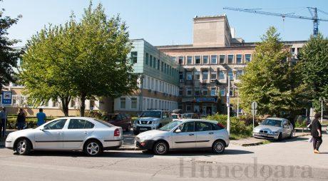 Premieră în județ: parcare etajată în fața Spitalului Județean de Urgență
