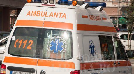 BREAKING NEWS: Femeie căzută de la etajul 2 în Simeria