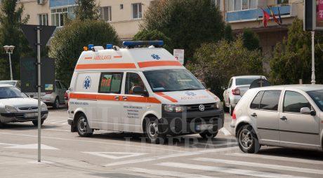 DEVA. Accident GRAV în zona Lido