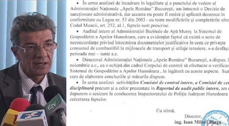 Anchete | Apele Române – SGA Hunedoara