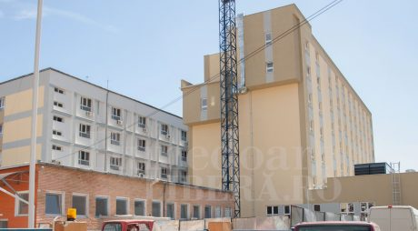 Termen pentru finalizarea lucrărilor la aripa nouă a Spitalului Județean