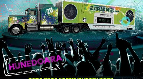 Camionul RADIO ZU ajunge la Hunedoara