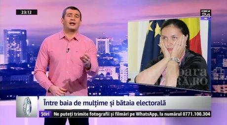 Carmen Hărău ironizată de Dragoș Pătraru, la Starea Nației
