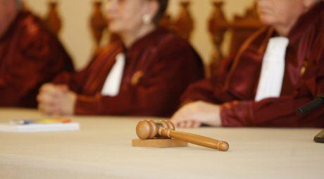 Ceremonia de validare a Presedintelui Traian Basescu in functia de sef al statului pentru al doilea mandat de cinci ani, la sediul Curtii Constitutionale din Bucuresti, miercuri, 16 decembrie 2009. INTACT IMAGES/Jurnalul National/Christian Silva