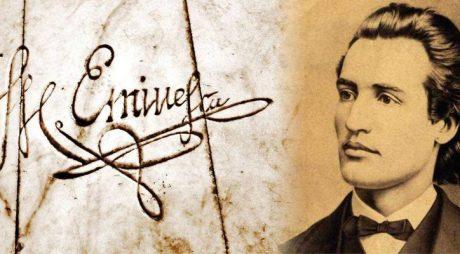 Mihai Eminescu, omagiat la Hunedoara