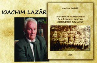 Lansare de carte, Ioachim Lazăr