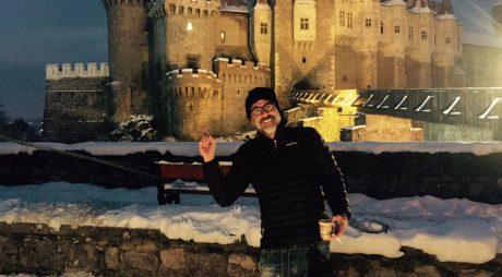 Actorii americani Aaron Eckhart și Jeffrey Dean Morgan filmează la Castelul Corvinilor