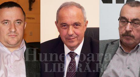 Anul cu 3 președinți la Consiliul Județean Hunedoara