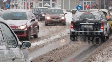 Valul de aer polar aduce ger NĂPRAZNIC în România