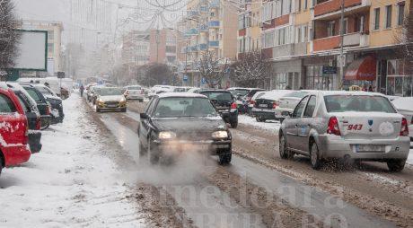 DEVA | Iarna a pus stăpânire pe oraș (FOTO&VIDEO)