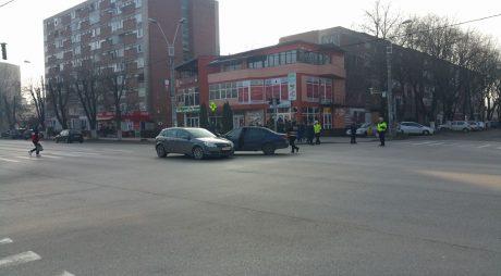 Accident într-o intersecție din Hunedoara