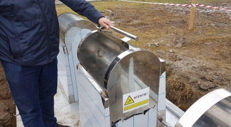 50 de platforme subterane pentru deșeuri în Hunedoara