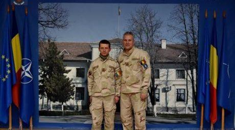 Jandarm hunedorean întors din Afganistan