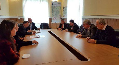Ministrul Economiei, în vizită de lucru la Deva și Orăștie
