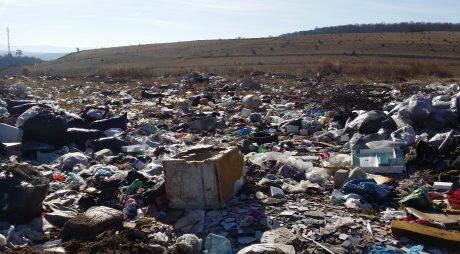 Halde de gunoi ilegale în Hunedoara