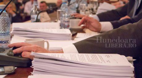CJ Hunedoara, în ședință. Ordinea de zi