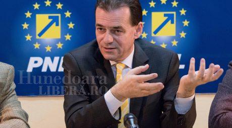 Ludovic Orban (PNL) vine azi la Deva