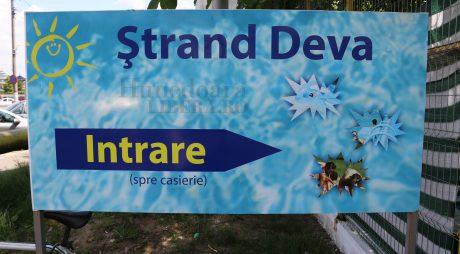 Ştrandul Municipal din Deva îşi închide porţile