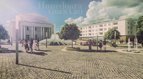 Transformare radicală a Centrului Civic din Municipiul Hunedoara