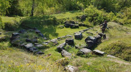 Cetăți dacice ecologizate într-o acțiune de voluntariat