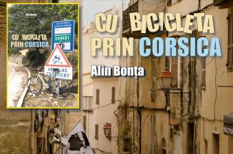 """Lansare de carte   """"Cu bicicleta prin Corsica"""""""