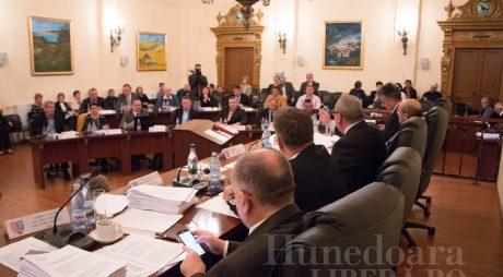 Bugetul județului Hunedoara, la ora votului