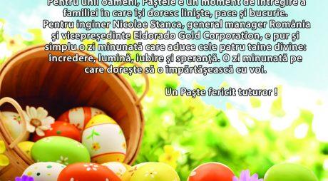 DEVA GOLD vă urează Paște Fericit