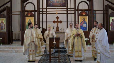 Episcopul greco-catolic de Lugoj, în vizită la Deva