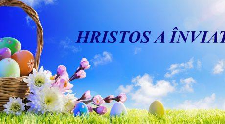 Hunedoara Liberă vă urează Paște Fericit!