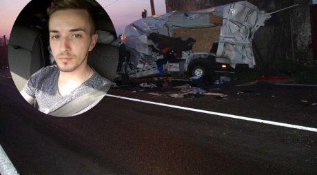 Tânăr de 22 de ani ucis într-un accident groaznic (foto)