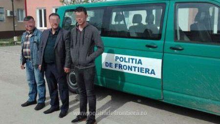 Poliția de frontieră a prins un nou lot de migranți