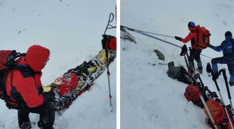 CAUZA MORȚII celor doi copii alpiniști