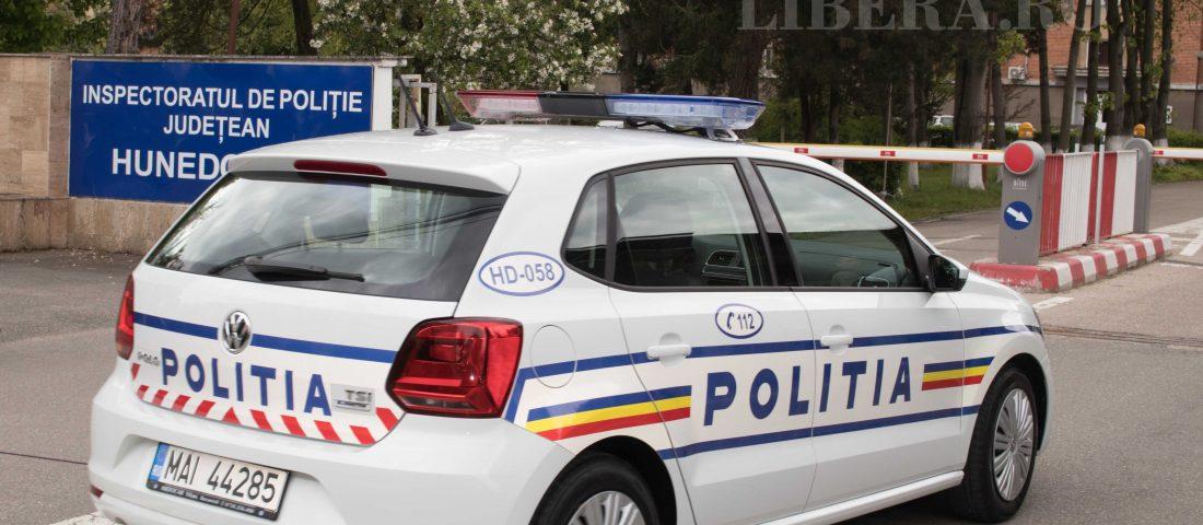 MASINA POLITIE ECHIPAJ RUTIER ACCIDENT (2)