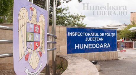 Comisarul șef Teodosiu, noul adjunct al șefului IPJ Hunedoara