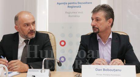 Primul proiect european din Vestul țării, semnat la Hunedoara