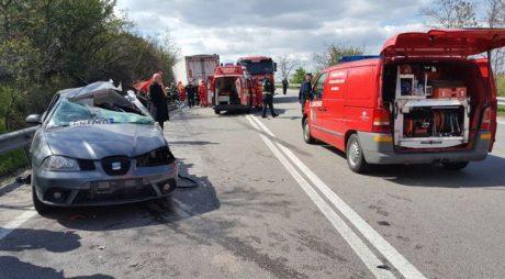 ACCIDENT GRAV CU 7 RĂNIȚI. Mașină de Hunedoara implicată