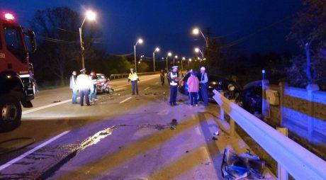 BREAKING NEWS: Accident grav între Hunedoara şi Sântuhalm
