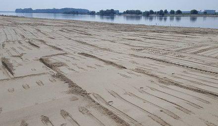 Cea mai nouă plajă din România se află la Corabia
