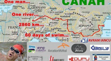 Cursa înotătorului Avram Iancu, poate fi urmărită LIVE