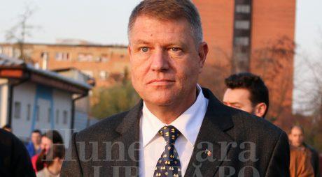 Iohannis: România nu mai poate fi condusă după principiile regimului comunist