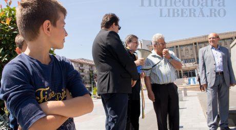 Avram Iancu, omagiat la megafon (FOTO)